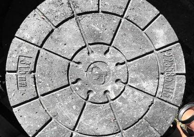 Punkt-renovering kloak
